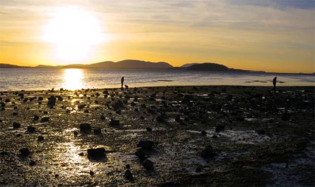 Sunset on Padilla Bay
