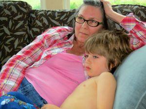 Cozy time with Suzie
