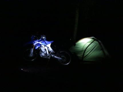 Turlo Camp - in the dark